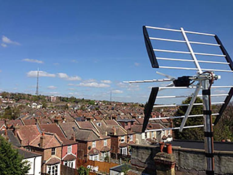 View Our Digital TV & Radio Aerial Installations Gallery