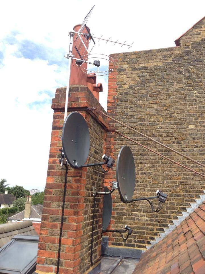 Sky, Freesat and European Satellite Installation Gallery Image 15