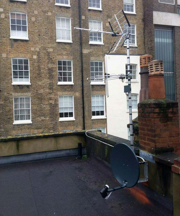 Sky, Freesat and European Satellite Installation Gallery Image 18