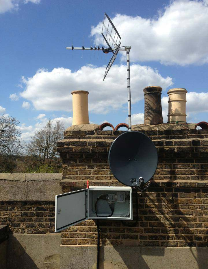 Sky, Freesat and European Satellite Installation Gallery Image 8