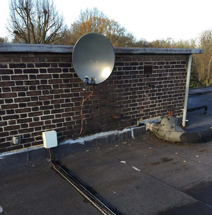 Sky, Freesat and European Satellite Installation Gallery Image 9